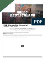 HSN Alemania - Apertura del canal de venta online y distribución