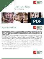 Informe IEP Junio II 2021 - Elecciones Segunda Vuelta