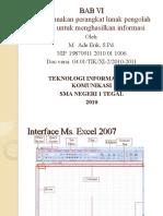 Modul TIK XI Versi 06.01