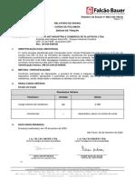 Laudo Falcão Bauer NR18 12,0mm