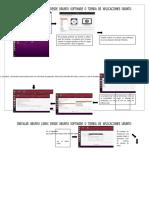 1er Diagrama de Proceso de Instalar UBUNTU LINUX desde Ubuntu software
