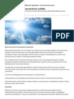 CACP – Ministério Apologético » Antropopatismo e antropomorfismo na Bíblia » Print