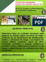 DECRETO 2535 ARMAS MUNICIONES Y EXLOSIVOS