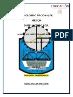 Unidad 5 Costos y Presupuestos Luis Vicente Del Angel Arguelles