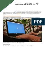 Como configurar uma VPN SSL no PC