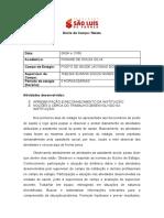 Diario de Campo Rosane