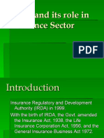 PIB- IRDA and its role