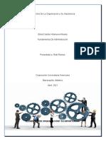 Elementos De La Organización y Su Importancia