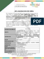 Acta de Liquidacion Placa Huella