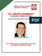 EL GRUPO ROMERO LOS NUEVOS DUENOS DEL PERU