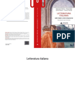 Letteratura Italiana Manuale Per Studi u