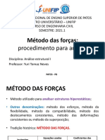 Aula 4 - Método das forças_procedimento para análise