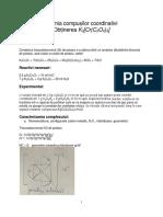 chimia compusilor coordinativi