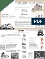 Infografías arquitectura romanica y griega