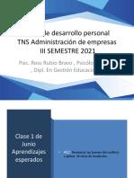 ADM III TDP CLASE 1 JUNIO