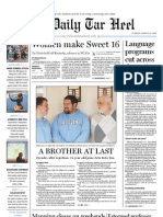 The Daily Tar Heel for March 22, 2011