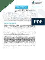 Comunicacion Epidemiologica Mucormicosis