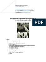 TRABALHO DE AUTOMAÇÃO DE  SISTEMAS ELÉTRICOS DE POTÊNCIA