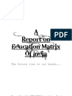 Education Matrix of India