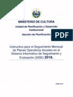171019 Instructivo Para Seguimiento Mensual de Poas en El Sise 2018 Ocr