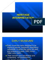 Heritage Interpretation