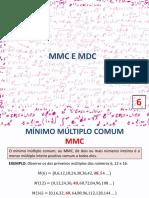 6 - MMC e MDC - Com Resposta