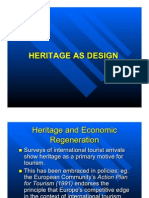 Heritage as Design