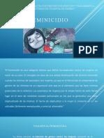 Feminicidio i (Generalidades)