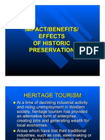 Impact/Benefits/Effects of Historic Preservation