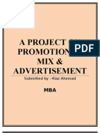 Literature review on advertising