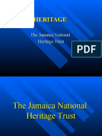 The Jamaica National  Heritage Trust