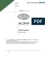 ALOHA (manual de usuario en español)