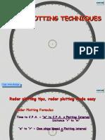 Radar Plotting Techniques