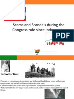 Era of scams since 1947