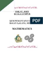 KEM BAGAN LALANG -MATHEMATICS