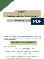 Chapitre 4 cinétique électrochimique