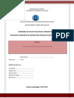 Modèle Page Couverture DIC