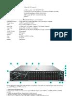 Servidor modelo HP ProLiant DL380 Geração 10