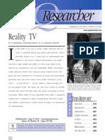 CQResearcher_RealityTV