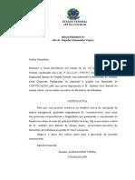 Convocação de ex-secretário-executivo do Ministério da Cidadania
