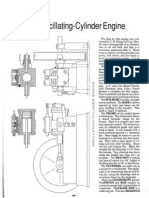 Model Oscillating Steam Engine Plans