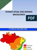 PPGEA 2015 PARTE 2 - ESTADO ATUAL DOS BIOMAS BRASILEIROS
