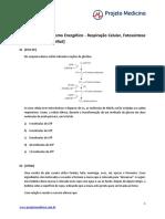 Citologia - Metabolismo Respiração Fotossíntese Fermentação - [Difícil] - [46 Questões]