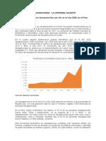 Pandemia de Desaparecidos en El Perú