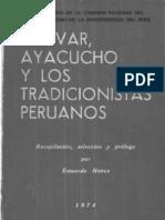 1974_Estuardo_Nuñez_-Bolivar_Ayacucho_y_los_tradicionistas_peruanos
