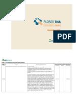 Tuss 18 - Diárias e Taxas - Versão 202012