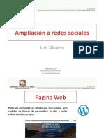 Ampliación a redes sociales Luis Sifontes