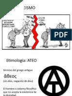 EL ATEISMO