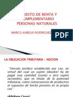 RENTA PERSONAS NATURALES 2020