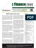 vol. 8 issue 10 march 2011 - better safe than sorry